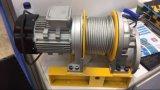 El micro tipo de torno eléctrico, alambre de cable eléctrico con control remoto