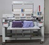 Máquina automatizada de alta velocidad del bordado del casquillo y máquina plana Wy1502c del bordado