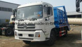 Caminhão de lixo hidráulico da recusa do braço de Hotsales Tianland 10ton