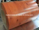 Les graines en bois pour la couleur ont enduit la bobine en acier