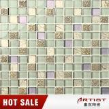 Résine Mix Crystal Glass 23X23mm Asian Mosaic