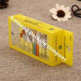 贅沢なデザイン黄色の色刷ペットプラスチック折るボックスEbay