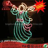 Мотива ангела украшения СИД свет напольного декоративный для рождества