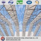 Construction préfabriquée de structure métallique de vente chaude pour le marché/système