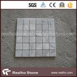 Preiswertes quadratisches Muster-natürliche Marmormosaik-Fliesen für Badezimmer auf Verkauf