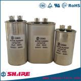 Capacitor do refrigerador das peças sobresselentes do condicionador de ar do capacitor do funcionamento Cbb65 do motor de C.A.