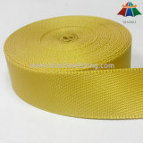Webbing de nylon de travamento lateral amarelo de 1.5 polegadas