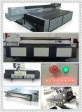 De goedkope Digitale UV Flatbed Regelbare Printer van het Grote Formaat 12cm Hoogte, Cmyk+W, 1440dpi