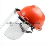 Шлем техники безопасности на производстве с предохранением от стороны лицевого щитка гермошлема заварки доказательства Visor/PC пыли органическим