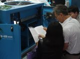 De gouden Compressor van de Lucht van de Schroef van de Levering 0.8MPa 2.3m3/Min van de Leverancier 15kw Riem Gedreven