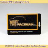 Пластичная карточка доступа выставки с Prepunched шлицем для талрепа