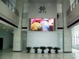 Mur visuel d'intérieur de l'écran P3 d'Afficheur LED annonçant le panneau-réclame