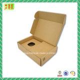 Коробка гофрированной бумага бумаги Kraft с вставкой для Parcking