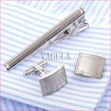 VAGULA Laser De Corbata Business 동점 바 금관 악기 동점 Pin 커프스 단추 동점 클립은 36를 놓았다