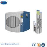 L'essiccatore dell'aria compressa con la cartuccia disseccante paragona all'essiccatore refrigerato
