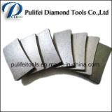 Corte de segmento de diamante Corte de granito Pedra de lava de arenito