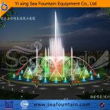 Fuente material superior de la música de la piscina de agua del grado Ss304