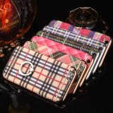 iPhoneのための携帯電話の箱のリングの立場のクロム水晶堅い箱プラス7 6 4.7