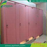 Porte de compartiment de douche de salle de bains de gymnastique/partition blanche de couleur