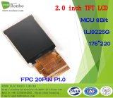 2.0 écran de TFT LCD de pouce 176*220 MCU, Ili9225g, 20pin avec l'écran tactile d'option