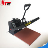 38*38cmのセリウムの平らで簡単な熱の出版物機械手動熱伝達機械Tシャツの熱伝達の印字機
