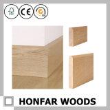 15 x 110mm簡単な様式のカシの純木の幅木