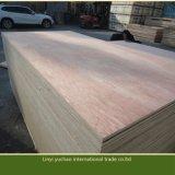 madera contrachapada roja de 18m m para la decoración y los muebles