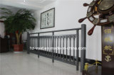 Balustrade en acier galvanisée décorative de haute qualité 6 de balcon d'alliage de Haohan Alluminum