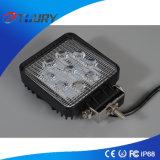 Lâmpadas da luz do trabalho do diodo emissor de luz do jipe da iluminação 27W SUV do diodo emissor de luz do auto acessório