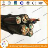 600V тип 12 AWG Sj, UL Sjo, Sjo, Sjoow, шнура Soow портативный и силового кабеля аттестовал