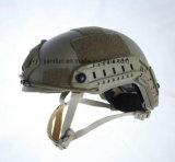 Шлем Paintball боя сплошного цвета тактический защитный быстрый для игры в реальном маштабе времени CS