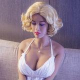 gatito atractivo de la vagina de Cloesed de los ojos del 165cm del sexo del pecho grande melenudo de la muñeca con sonar de la calefacción