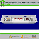Construcción casera prefabricada de la casa prefabricada portable y durable del envase