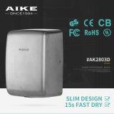 Dessiccateur de main de dessiccateur de main de Touchless d'accessoires de salle de bains d'AK2803D le plus petit mini