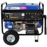 Type triphasé générateur de sortie à C.A. d'essence de 5kw