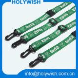 Wholesale Nylon Custom Lanyards with Silk Printing Pattern