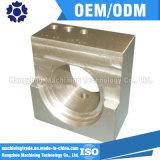 Peça fazendo à máquina do CNC da peça de maquinaria da tolerância +/-0.002mm para a indústria médica