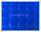 Anti-Slip 둥근 단추 고무 매트 또는 고무 장이 ISO9001에 의하여 의 범위 증명서를 준다