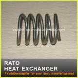 Tubo del enrollamiento de la calefacción para el cambiador de calor