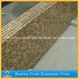 Controsoffitti di superficie solidi del granito di Giallo Fiorito per la cucina