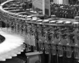 Máquina de lavar Qcl160 automática ultra-sônica para os antibióticos (farmacêuticos)