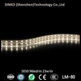 5050 96LEDs IP68 impermeabilizzano riga dell'indicatore luminoso del nastro del LED la doppia