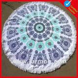 150X150cmのカスタムパターン円形のビーチタオル