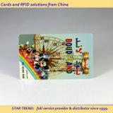 Карточка магнитной нашивки PVC перезаряжаемые для центра зрелищности