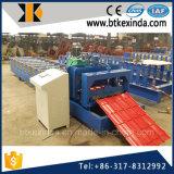 Hoja esmaltada acero del material para techos del azulejo del color de Kxd 840 que hace la máquina