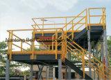 Fiberglas-Strichleitern u. Handlauf, Fiberlgass Treppen-Schritt, FRP Handlauf-System
