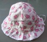 El algodón embroma el casquillo de los niños del casquillo del bebé del casquillo