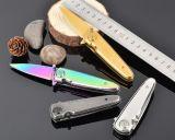 Lama piegante della mini lama chiave dell'acciaio inossidabile