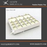 Bandeja de exhibición de la joyería personalizada pulsera del encanto