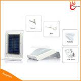 lumière solaire légère solaire extérieure solaire de jardin de la lumière DEL de détecteur de mouvement de 100lm 16 DEL